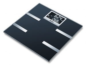 GLASS BODY FAT SCALE WITH BLUETOOTH CONNECTIVITY-0
