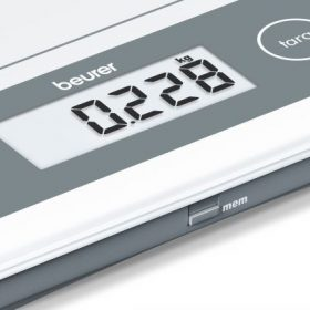 MULTI -USE X LARGE GLASS SCALE - with memory display-203