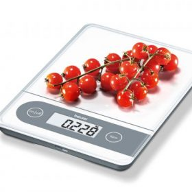 MULTI -USE X LARGE GLASS SCALE - with memory display-204