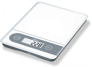 MULTI -USE X LARGE GLASS SCALE - with memory display-0