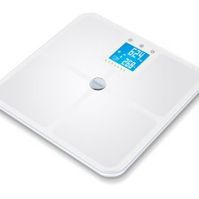 GLASS BODY FAT SCALE WITH BLUETOOTH CONNECTIVITY - ITO Coating BF950-0