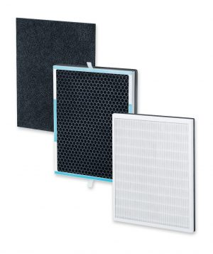 Triple Filter Air Purifier Replacement Set Filter Pack - LR500RS-0