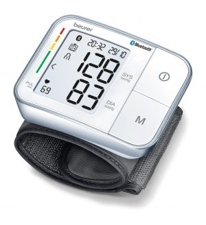 BEURER CONNECT BLUETOOTH WRIST BLOOD PRESSURE MONITOR-0