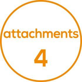 INFRARED HANDHELD BODY MASSAGE: 3 ATTACHMENTS-668