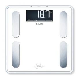 Beurer Signature Line BF400W glass body fat scale-890