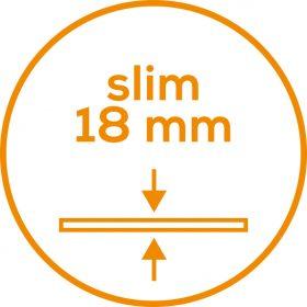 GLASS BODY FAT SCALE BG13-872